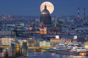 Наш любимый город на Неве - Санкт-Петербург - морские ворота Балтики
